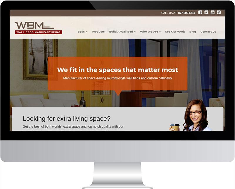 Site view on Desktop