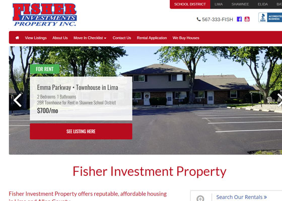 Properties website