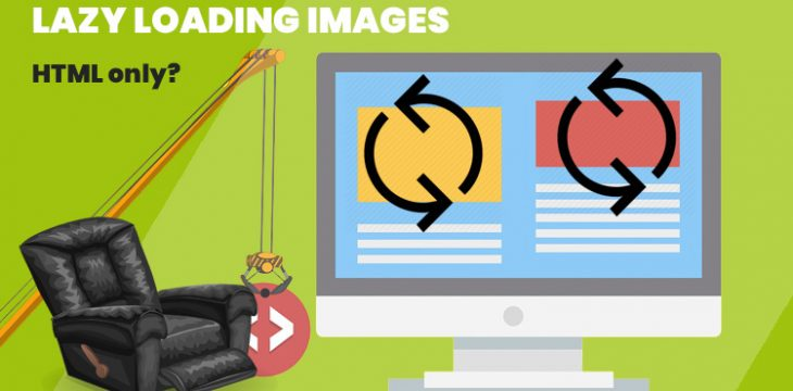 Lazy loading images with HTML